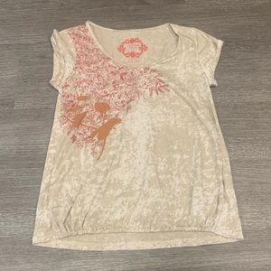 Free People Graphic T Shirt
